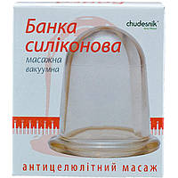 Массажная банка Chudesnik вакуумная большая