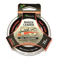 Флюорокарбон Intech FC Shock Leader 0.218мм 25м (3.1kg / 6.8lb)