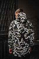 Куртка демисезонная Off White military , Камуфляж, Штормовка, РАСПРОДАЖА Размер С и М