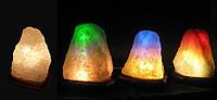 """Соляная лампа """"Скала"""" 4-5 кг"""