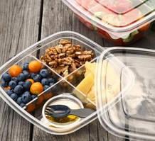 Контейнеры для салатов и вторых блюд