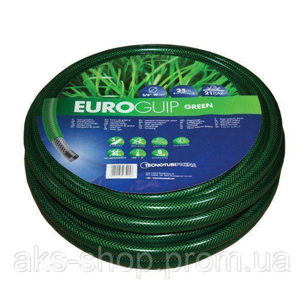 Шланг садовий Tecnotubi Euro Guip Green для поливу діаметр 1/2 дюйма, довжина 20 м (EGG 1/2 20)
