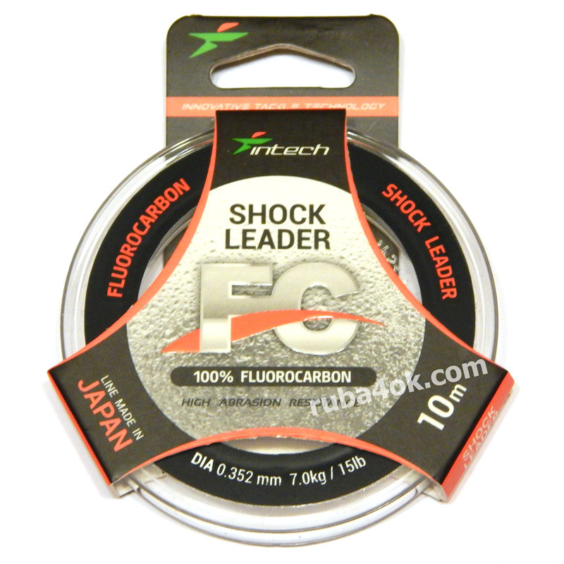 Флюорокарбон Intech FC Shock Leader 0.352мм 10м (7kg / 15lb)
