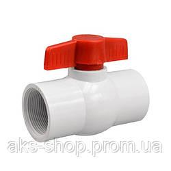 Кран шаровый Presto-PS 19 мм с внутренней резьбой 3/4 дюйма (PF-0125)