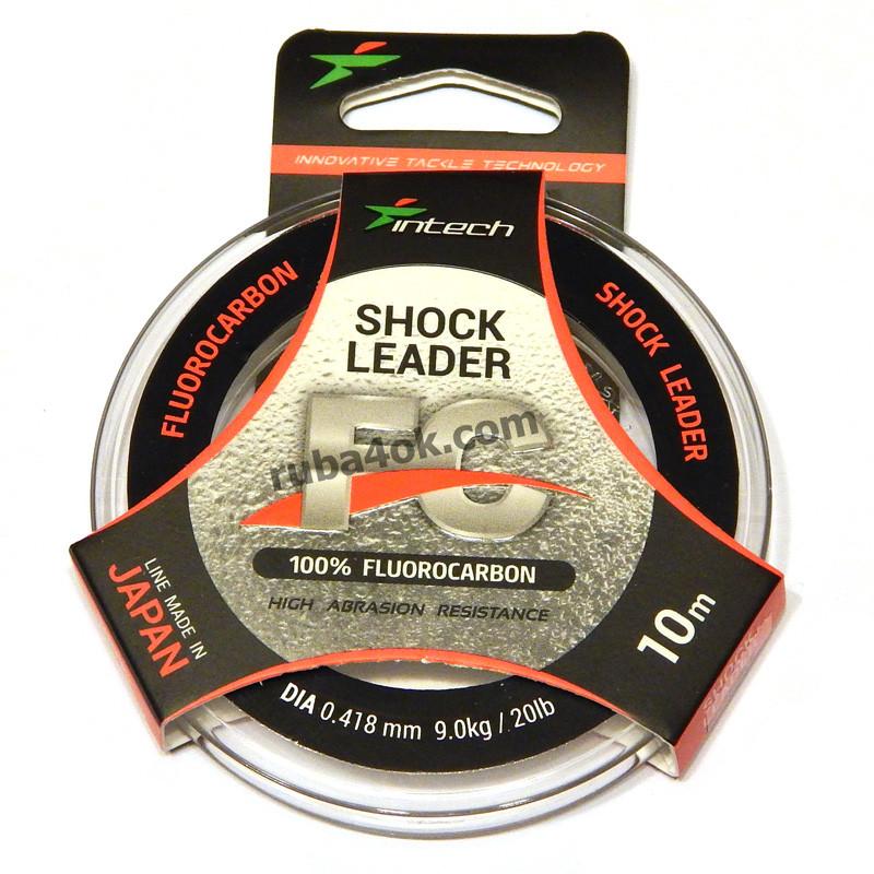 Флюорокарбон Intech FC Shock Leader 0.418мм 10м (9kg / 20lb)
