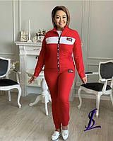 Женский батальный спортивный костюм Tommy