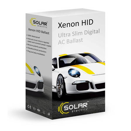 Блок розжига SOLAR Ultra Slim AC Ballast 1550, фото 2