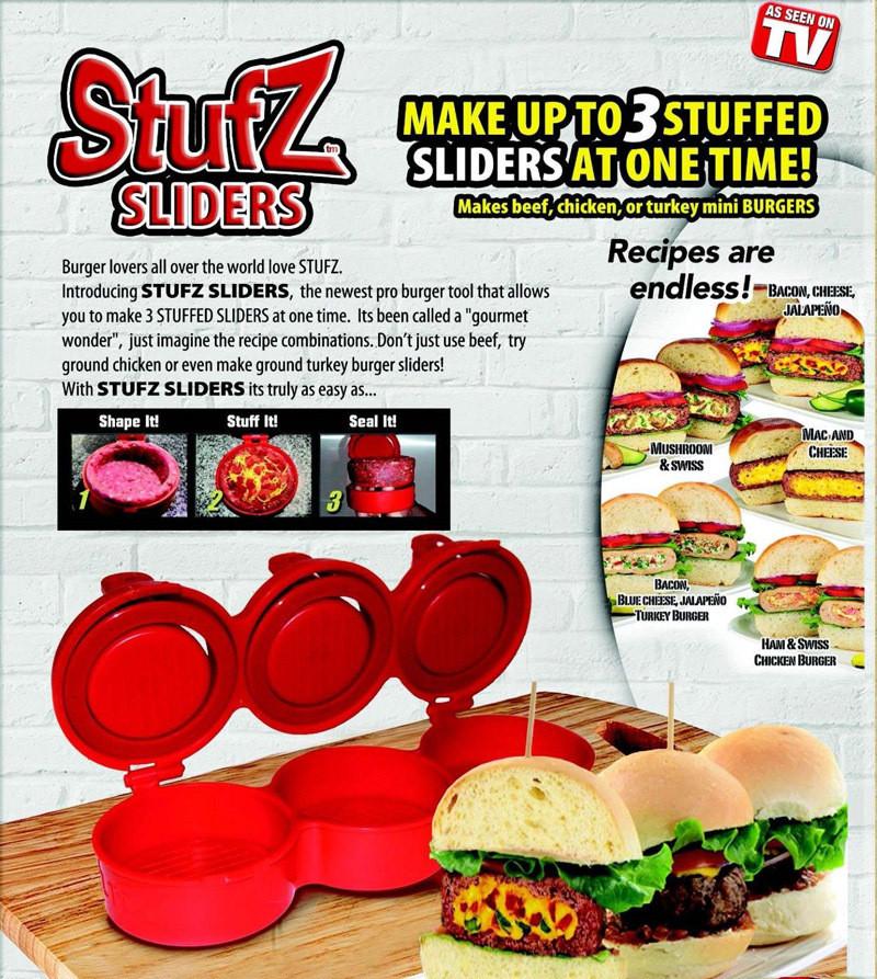 Форма для гамбургеров Stufz Sliders