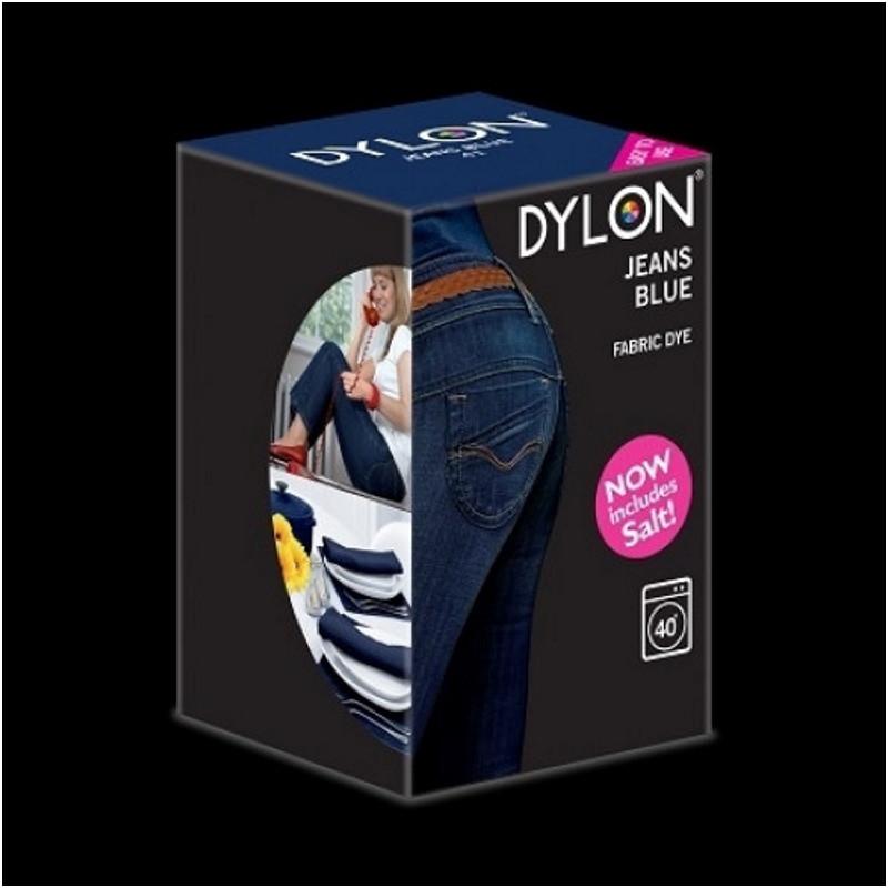 Краска для окрашивания ткани в стиральной машине DYLON Machine Use Jeans Blue