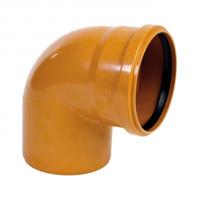Канализация наружная Колено 160 мм (90°)