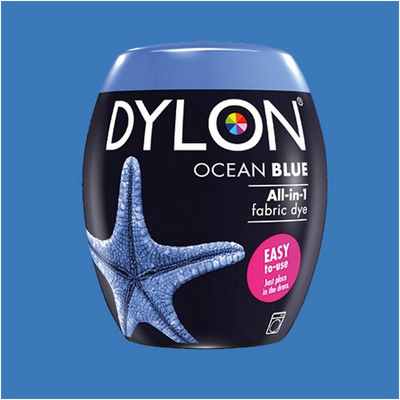 Краска для окрашивания ткани в стиральной машине DYLON Machine Use Ocean Blue (бочонок)