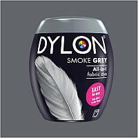 Краска для окрашивания ткани в стиральной машине DYLON Machine Use Smoke Grey (бочонок)
