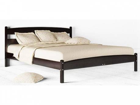 Односпальная кровать МИКС-Мебель Ликерия 90*200 без изножья Венге (69274), фото 2