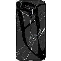 TPU+Glass чехол Luxury Marble для Xiaomi Redmi K20 / K20 Pro / Mi9T / Mi9T Pro