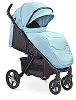 Детская прогулочная коляска Caretero Titan (Голубая)
