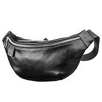 Поясная сумка GRANDE PELLE 11140 Черная, фото 1