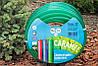 Шланг поливочный Presto-PS силикон садовый Caramel (зеленый) диаметр 3/4 дюйма, длина 30 м (CAR-3/4 30), фото 3