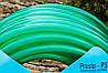 Шланг поливочный Presto-PS силикон садовый Caramel (зеленый) диаметр 3/4 дюйма, длина 30 м (CAR-3/4 30), фото 4