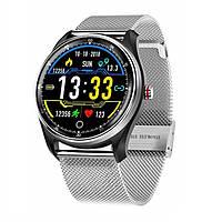 (Уценка) Часы MX9 с тонометром и ЭКГ + дополнительный ремешок (010)