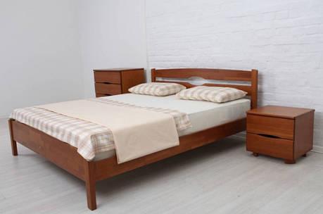 Односпальная кровать МИКС-Мебель Ликерия Люкс  80*200 без изножья Тёмный Орех (69530), фото 2