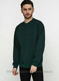 Базовий чоловічий світшот темно-зелений