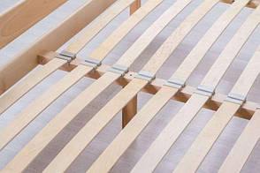 Двуспальная кровать МИКС-Мебель Ликерия без изножья с ящиками 160*200 Бук (69892), фото 2