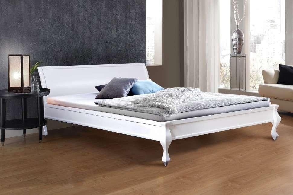 Двуспальная кровать МИКС-Мебель Николь 140*200 Белый (70824)