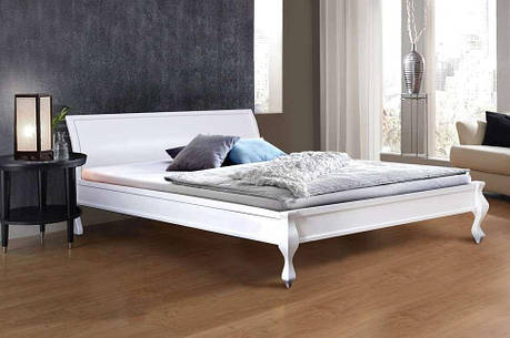 Двуспальная кровать МИКС-Мебель Николь 140*200 Белый (70824), фото 2