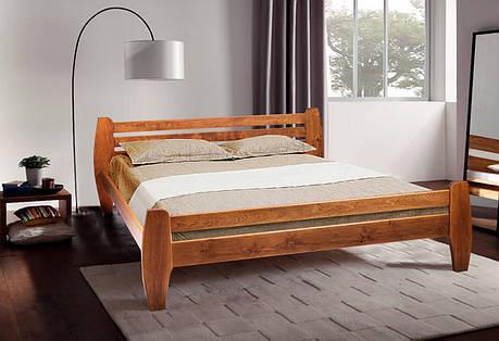 Двуспальная кровать МИКС-Мебель Galaxy 160*200 Светлый орех (70937), фото 2