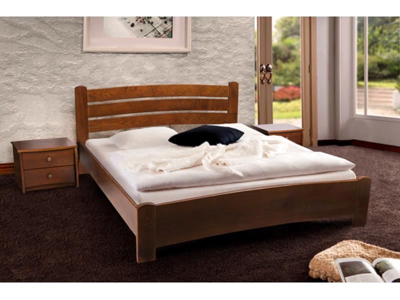 Двуспальная кровать МИКС-Мебель София 140*200 Светлый орех (70950)