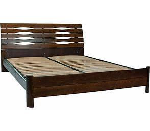 Двуспальная кровать МИКС-Мебель Мария 160*200 Тёмный орех (70973), фото 2