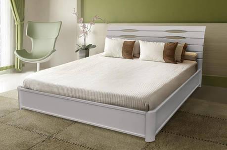 Двуспальная кровать МИКС-Мебель Мария Люкс 180*190 Белый с подъемным механизмом (71000), фото 2