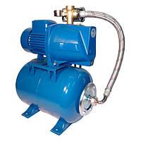 Насосна станція для води (насос JSW) з гідроакумулятором 24 літри