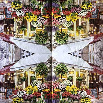 """Салфетка декупажная 33x33 см 17 """" Нидерланды Амстердам Цветы Лето Весна Сад Дом  """" Серветка для декупажу"""
