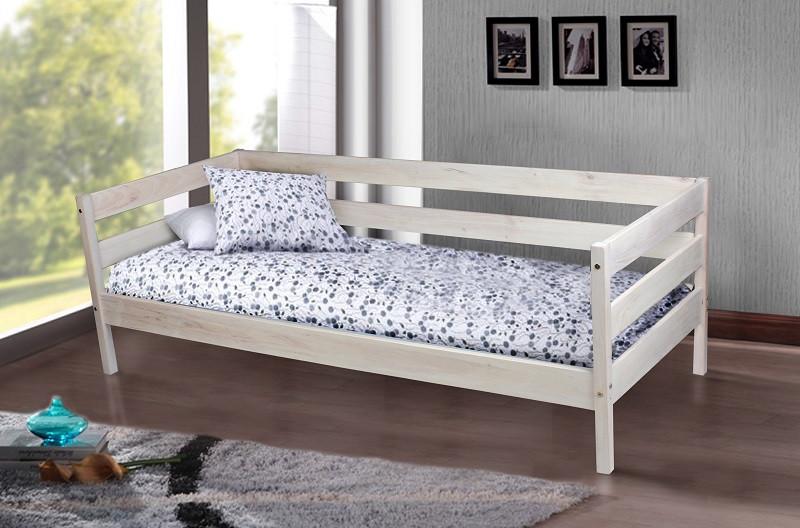 Односпальная кровать МИКС-Мебель Sky-3 80*190 Масло воск  (71211)