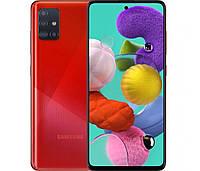 "Смартфон Samsung SM-A515F Galaxy A51 DS Red 6,5"" RAM: 4Gb. ROM:64Gb Octa Core"