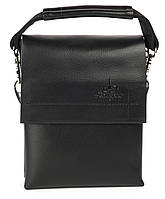 Удобная мужская стильная сумка Langsa art. 9888-0 черный, фото 1