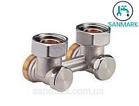 Клапан для стальных радиаторов с боковым подключением Giacomini 3/4х3/4 EK