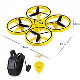 Квадрокоптер управляемый жестами руки Tracker Drone / ручной дрон / Сенсорный дрон с браслетом, Квадрокоптер, фото 8