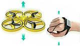 Квадрокоптер управляемый жестами руки Tracker Drone / ручной дрон / Сенсорный дрон с браслетом, Квадрокоптер, фото 9