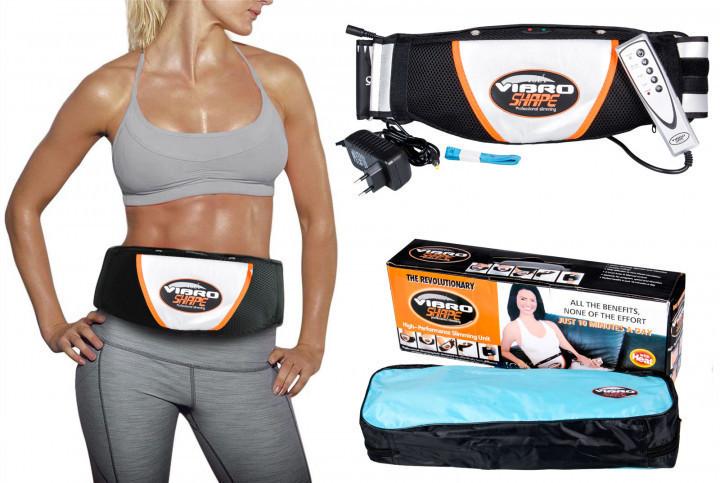 Пояс вибромассажер для похудения Vibro Shape, Вибро Шейп, Массажный пояс для похудения, Красота и здоровье