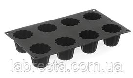 Форма силиконовая Cannele Bordelais Hendi 677506, 8 ячеек