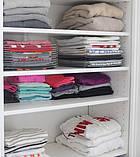 Органайзер для одежды Ezstax, Органайзер 10 делений Ezstax, Органайзер для обуви, Товары для дома , фото 3