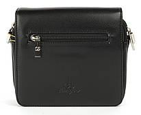 Небольшая мужская черная сумка LANGSA art. 037