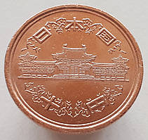 Япония 10 йен 2011