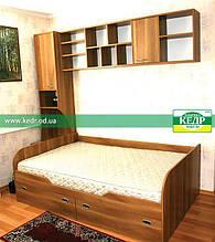 Ліжко дитяче підліткове ДСП під матрац 90х190см