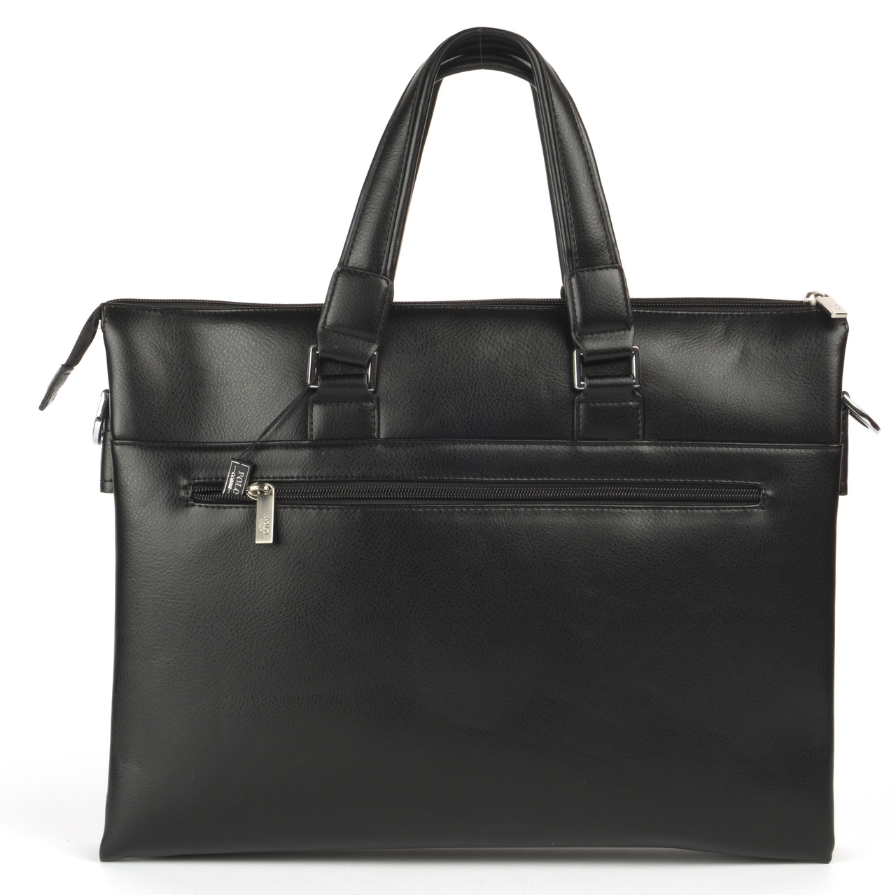 Вместительная мужская сумка POLO art. 1872 черный