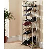 Органайзер для обуви Shoe rack Amazing Shoe Rack, Полка для обуви на 30 пар, Стеллаж для обуви