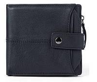 Кошелек мужской функциональный Vintage 14688 Черный