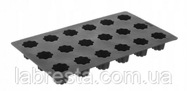 Форма силиконовая Mini Cannele Bordelais Hendi 676127, 18 ячеек